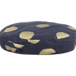 Floor Cushion - Gold Spots