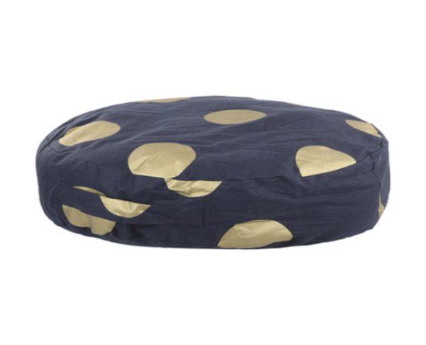 Floor Cushion - Gold Spots