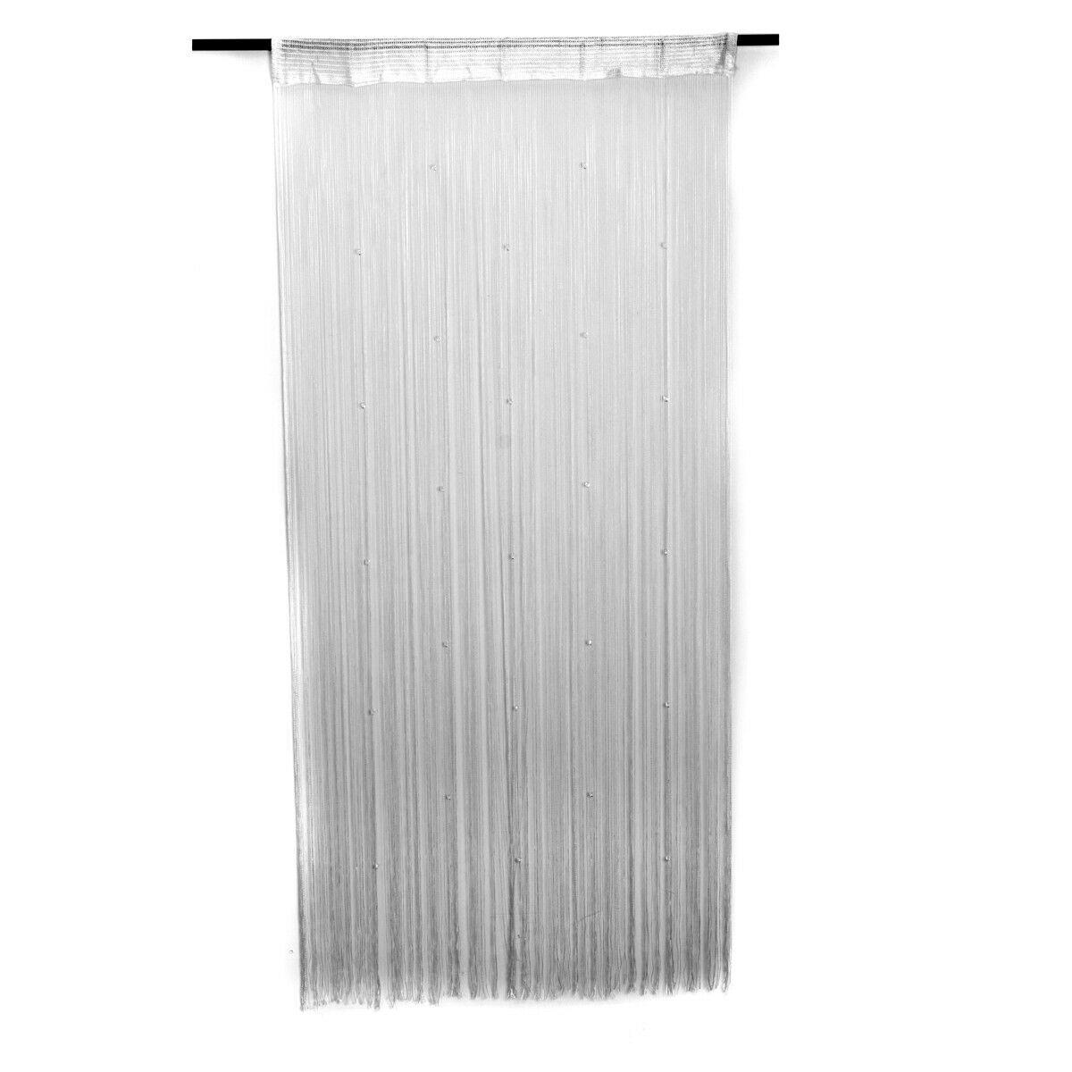 Beaded Crystal String Door Window Divider Curtain Space 338