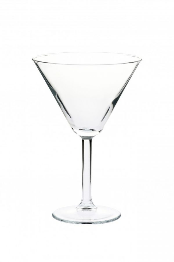 Crown Primetime Martini 300ml Glasses